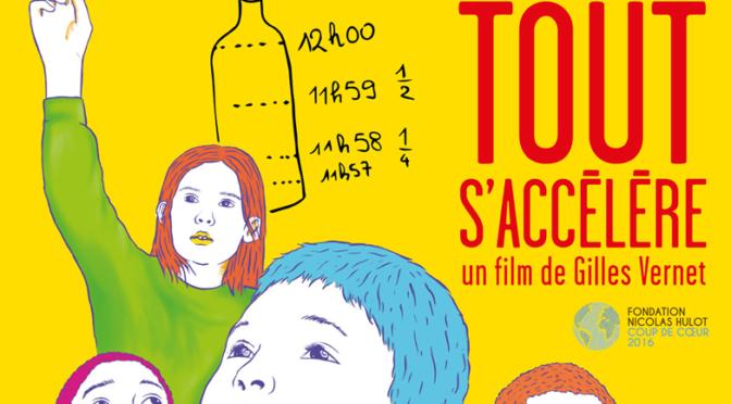 Projection débat du 3/12 : «Tout s'accélère», avec le réalisateur Gilles Vernet