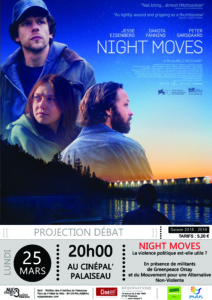 Night Moves avec Greenpeace à Palaiseau