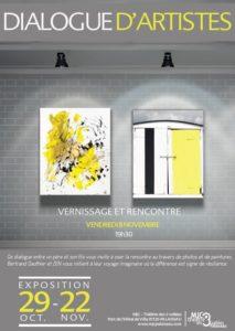 Exposition dialogue d'artistes
